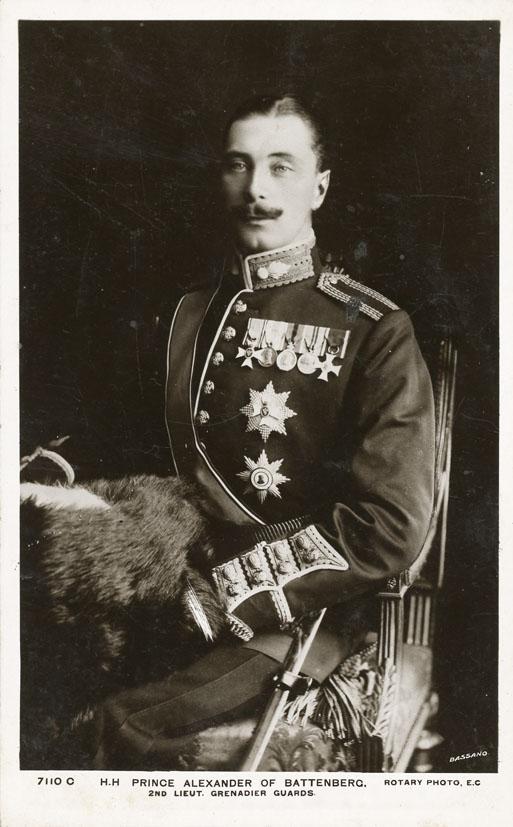 BASSANO. - Prince Alexander of Battenberg, 2nd Lieut. Grenadier Guards.