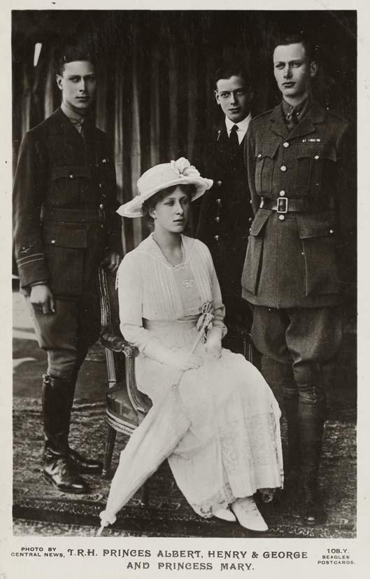 BEAGLES & CO, J. - Princes Albert, Henry & George and Princess Mary.