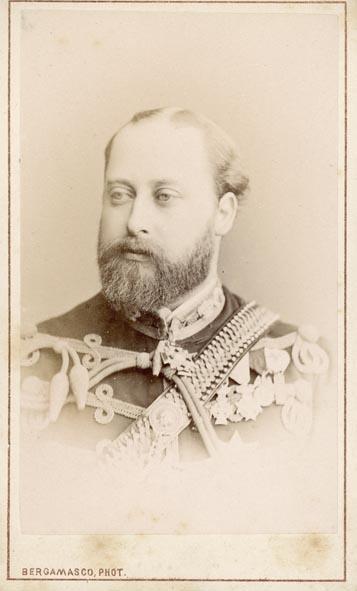 BERGAMASCO, CHARLES. - Portrait of the Prince of Wales, King Edward II,