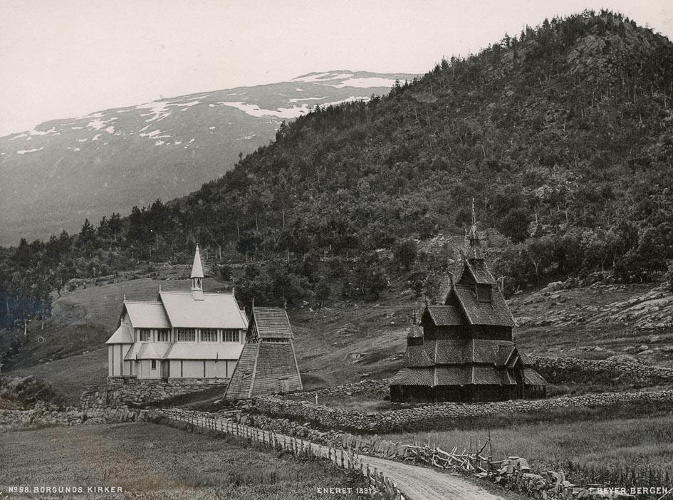 BEYER, F. - Borgunds Kirker.