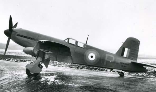 BLACKBURN. - Firebrand, DD804, 1942.