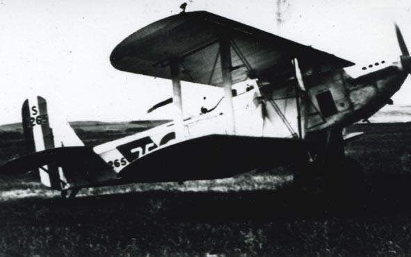 BLACKBURN. - Ripon II, S1265/75, 462 Flt, Swastika marking.