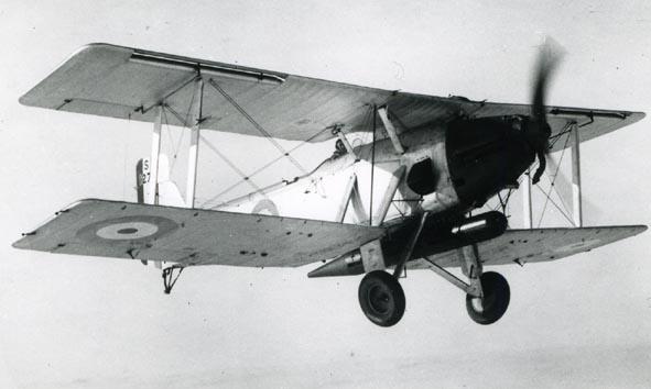 BLACKBURN. - Ripon II, S127-, air to air.