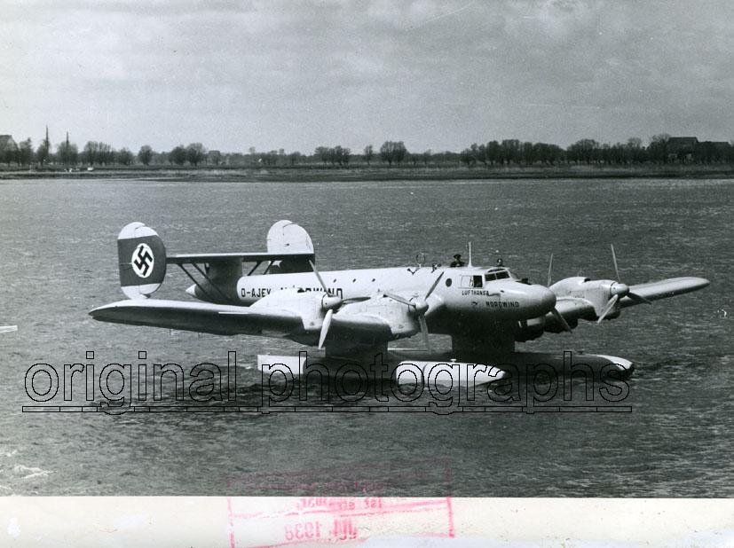 BLOHM & VOSS. - Ha 139, D-AJEY, Nordwind, Lufthansa, Atlantikfluzeug.