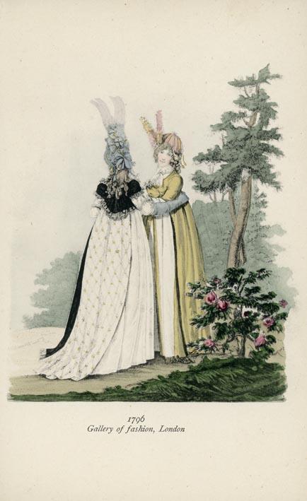 BOEHN, MAX VON. - Gallery of Fashion, London,1796.