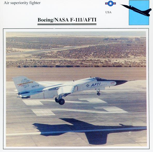 BOEING. - NASA F-111/AFTI, 39778.