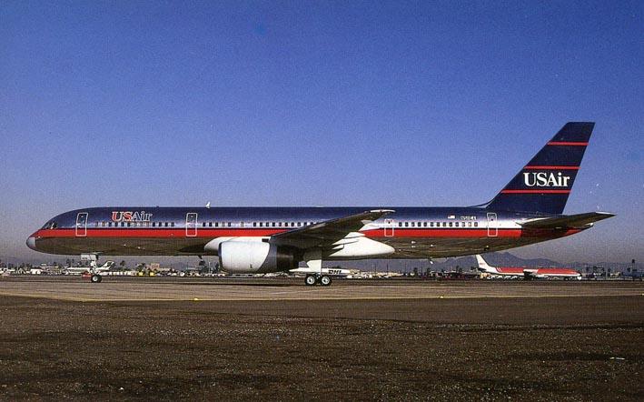 BOEING. - 757-225 N511EA C/N 22201 at Phoenix/Arizona in January 1992.