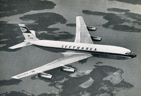 BOEING. - B-707-420, G-ABOB.