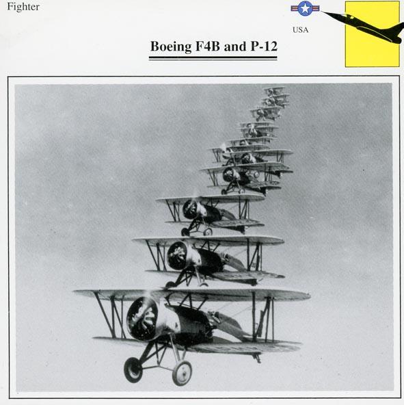 BOEING. - F4B, USAF.