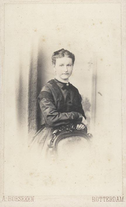 BÖESEKEN, A. - Portrait of a woman (5).