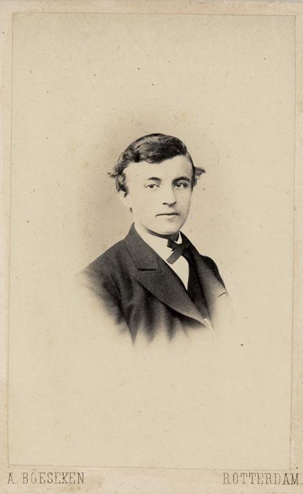 BÖESEKEN, A. - Portrait of a young man.
