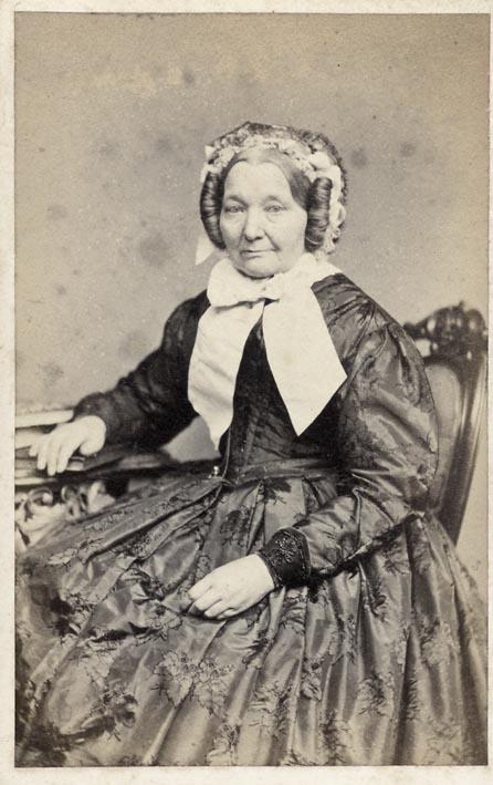 CARSTENSEN, P. - Portrait of grandmother Bolmer.