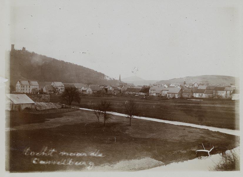CASSELBURG & PELM. - View on town. (Kasselburg Gerolstein).