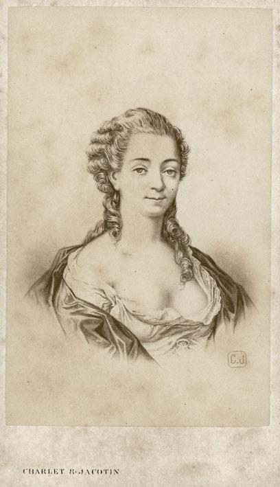 CHARLET & JACOTIN. - Comtesse de Villeneuve.