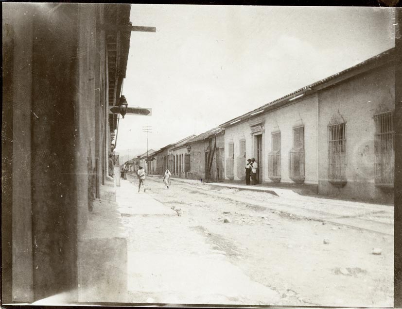 CUMANA. - Street in Cumana, Gran Hotel, Venezuela.