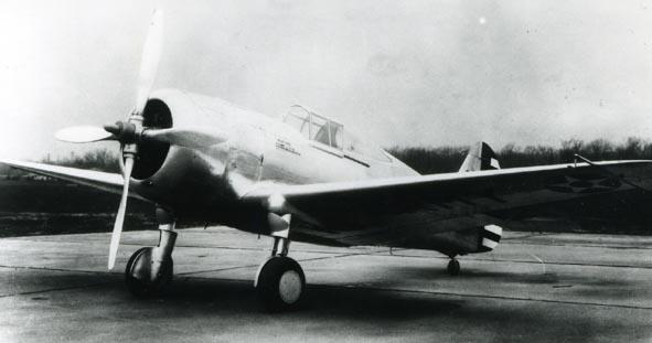 CURTISS. - Hawk, XP-36A, USAAC.