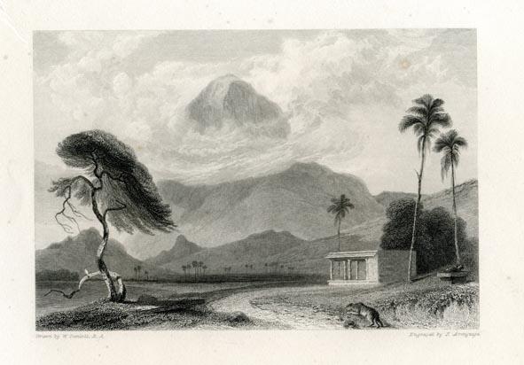 DANIELL R. A., WILLIAM. - Cape Comorin.