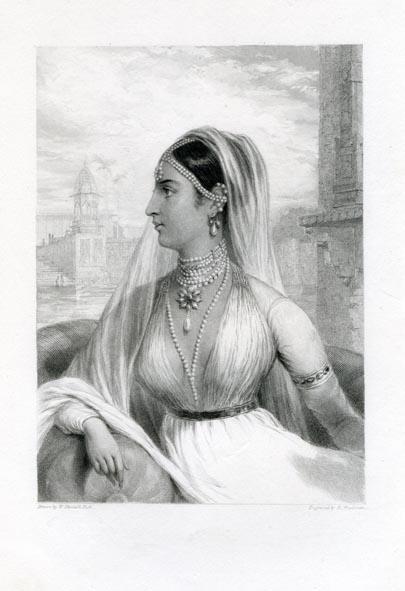 DANIELL R. A., WILLIAM. - The Rajpootni Bride.