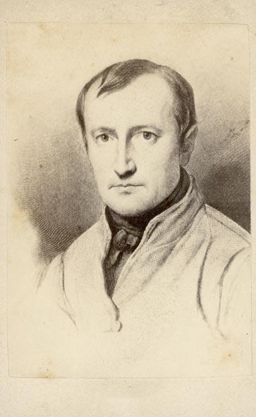 DELAROCHE, F. - Portrait of François Delaroche.