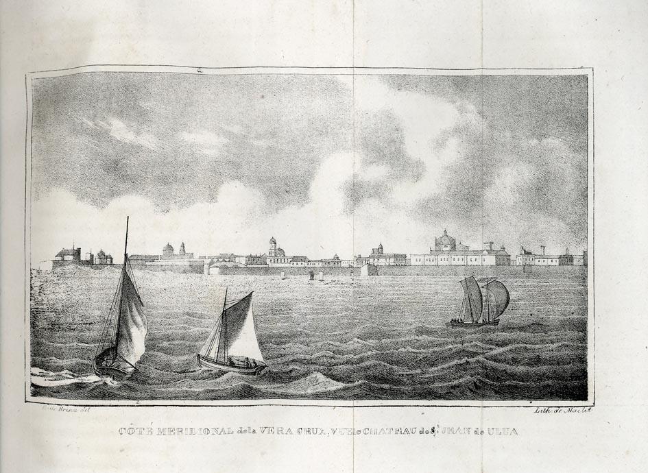 DEPPING. - Le Mexique en 1823, ou relation d'un voyage dans la Nouvelle-Espagne; accompagnée d'un Atlas de vinght planches; par M. Bulloch. Ouvrage traduit de l'anglais par M***. (Extrait).