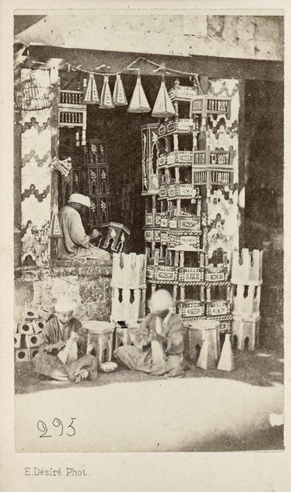 DESIRÉ, ERMÉ. - Cairo, arabic shop.