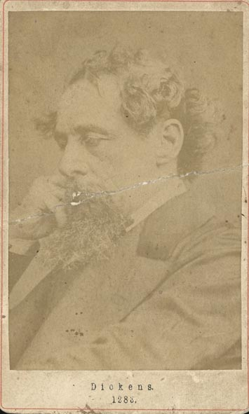 DICKENS, CHARLES. - Portrait of Charles Dickens.