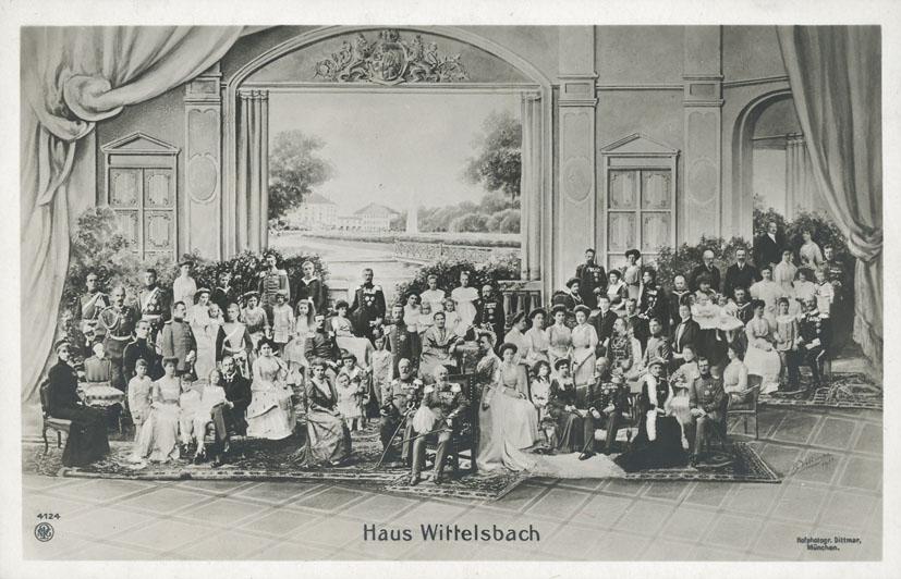 DITTMAR, B, - Haus Wittelsbach.