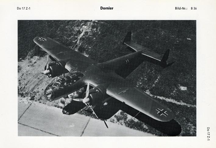 DORNIER. - Do 17 Z-1.