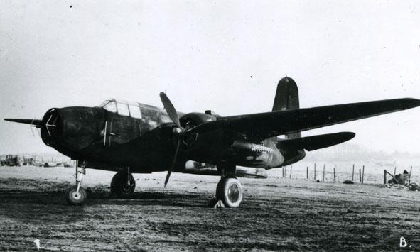 DOUGLAS. - Boston 111 Turbinlite, Z2184, 1942.