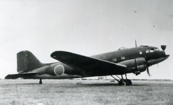 DOUGLAS. - C-47, Japanese Air Force.