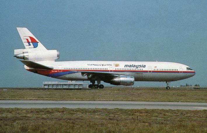 DOUGLAS. - DC-10-30 9M-MAV, Malaysia Airlines, Paris-Roissy CDG.