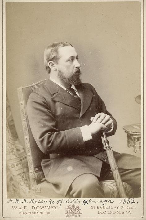 DOWNEY, W. & D. - Portrait of The Duke of Edinburgh.