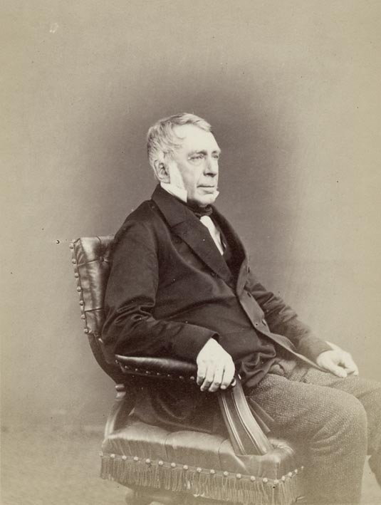 EDWARDS, ERNEST - Portrait of George Bidell Airy, M.A., LL.D., D.C.L.