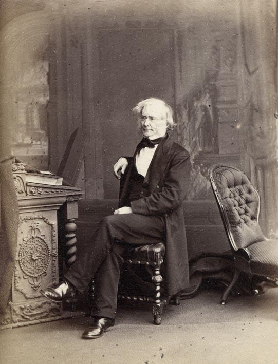EDWARDS, ERNEST. - Portrait of Sir William Edmund Logan, LL.D., F.R.S., F.G.S.