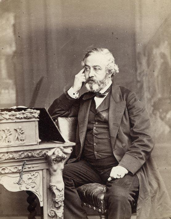 EDWARDS, ERNEST. - Portrait of Martin Farquhar Tupper, D.C.L., F.R.S.