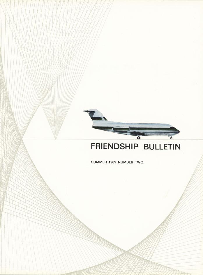 FOKKER. - Friendship Bulletin. Summer 1865 Number Two.