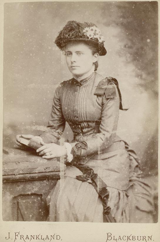 FRANKLAND, J. - Portrait of a woman.